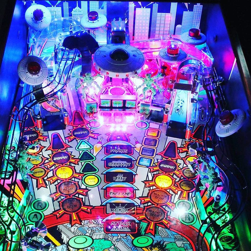 Who is not pumped for Attack From Mars! @chicagolandpinball