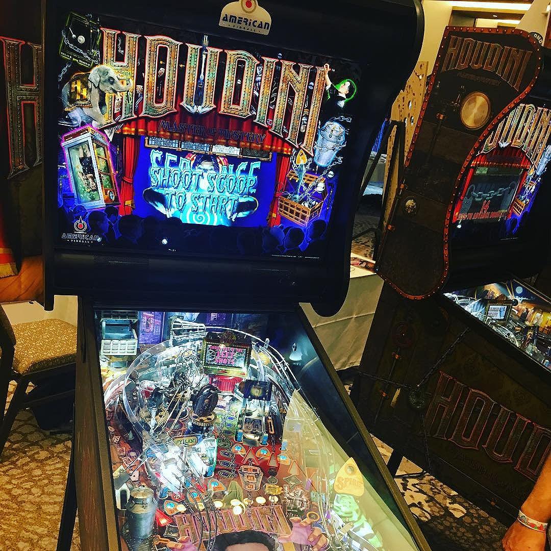 Houdini Pinball Expo 2017