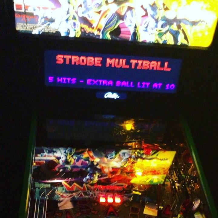 AFM Strobe Multiball